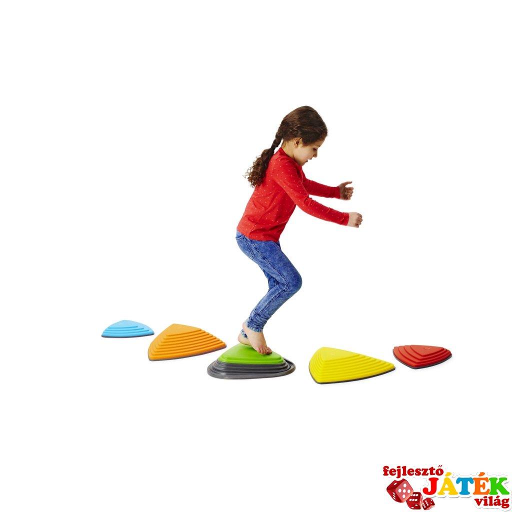 Folyami kövek - rugós folyami kővel, mozgásfejlesztő játék (Gonge 2131, 3-99 év)