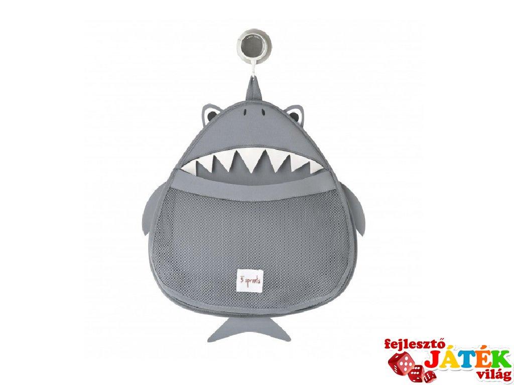 Fürdőszobai fali tároló cápa, fürdőszoba kiegészítő (3SPR)