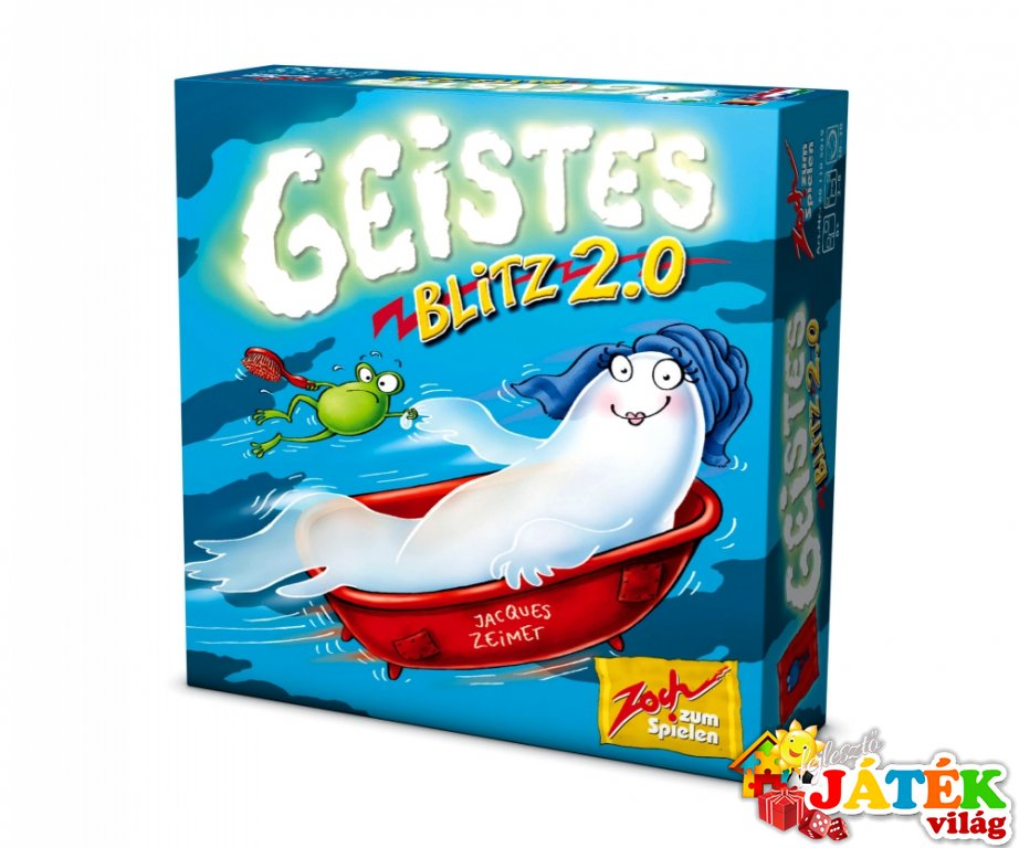 Geistesblitz 2.0 (Zoch, gyorsasági megfigyelős kártyajáték, 5-99 év)