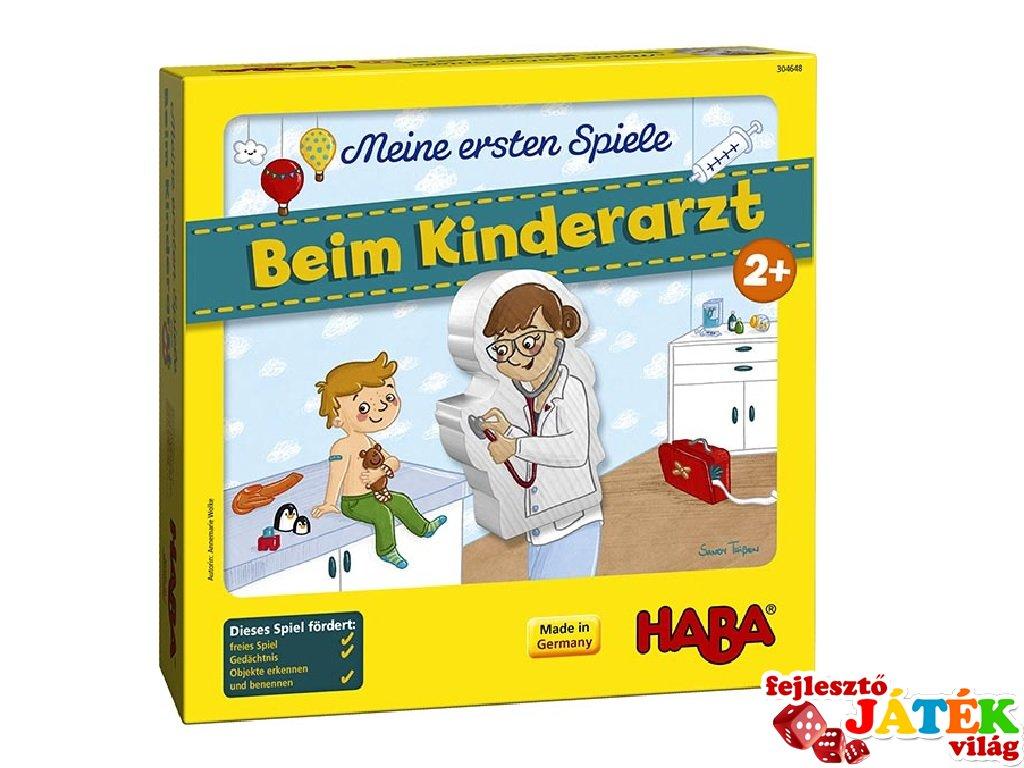 Gyerekorvosnál, Haba első társasjátékom (2-5 év)