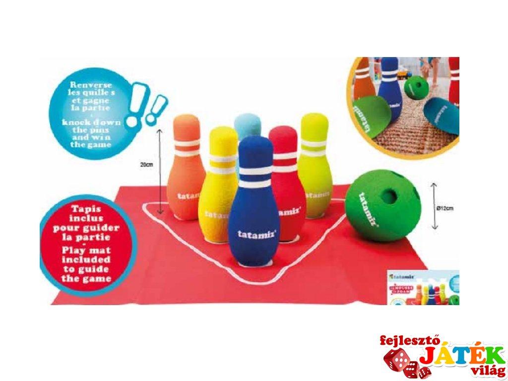 Habszivacs bowling, ügyességi játék (3-99 év)