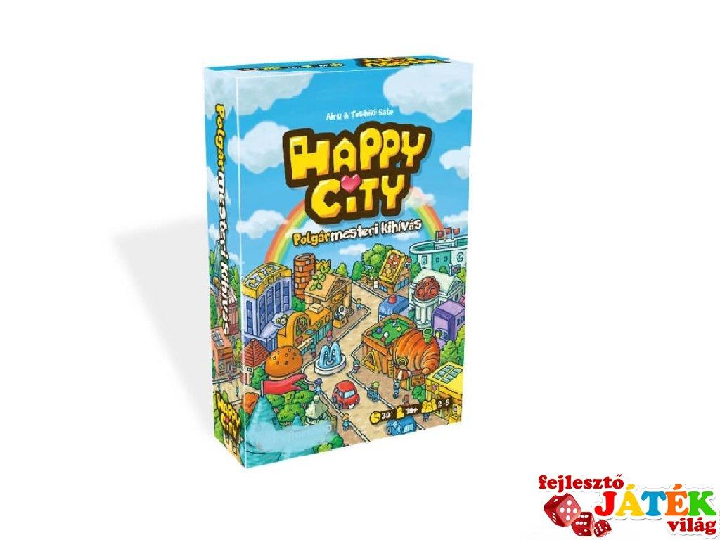 Happy City, városépítő társasjáték (10-99 év)