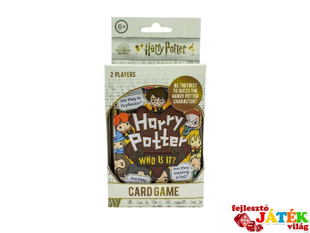 Harry Potter Who is it?, kétszemélyes kártyajáték (6-99 év)