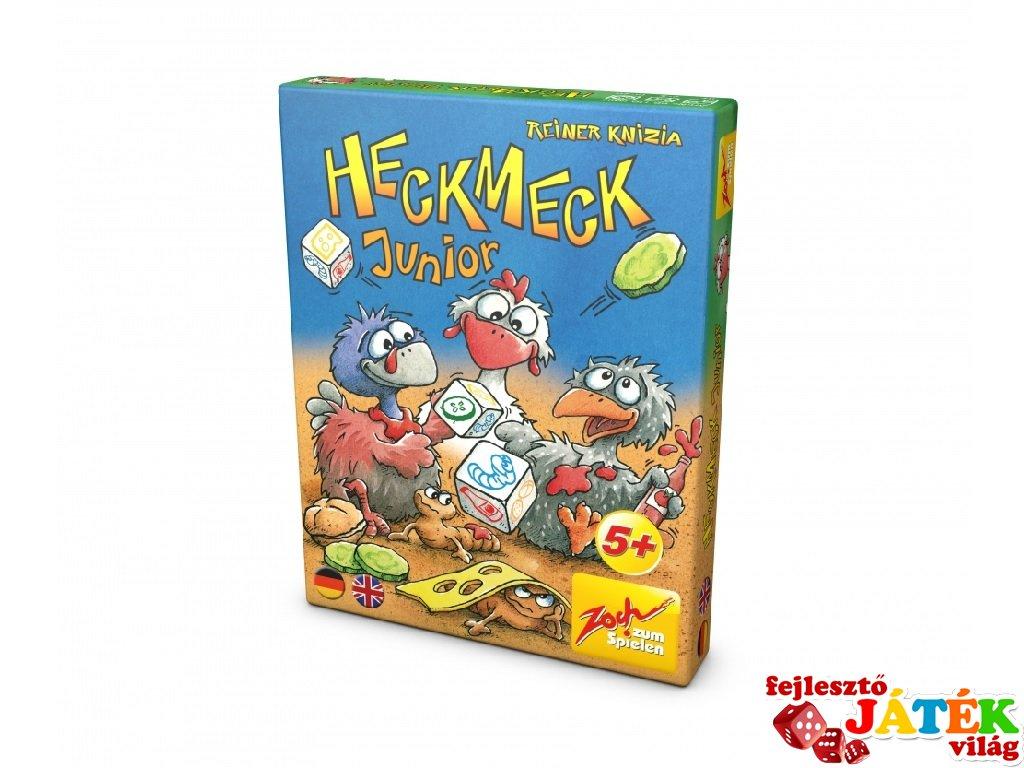 Heckmeck Junior (Zoch, matekot megszerettető társasjáték kisebbeknek, 5-10 év)