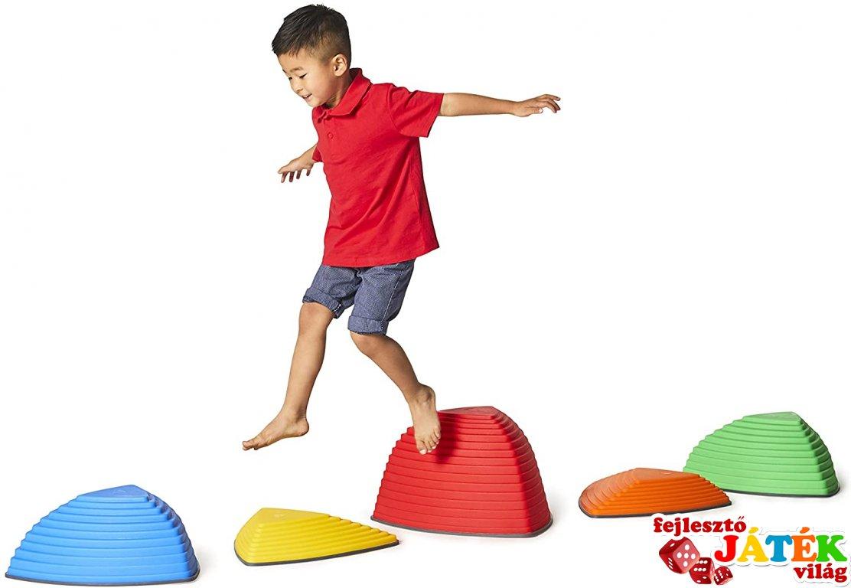 Hegycsúcsok, mozgásfejlesztő játék (Gonge, 3-12 év)
