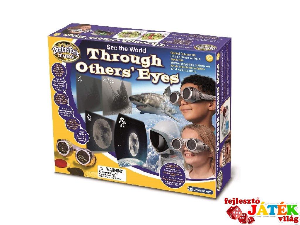 Hogyan látnak az állatok? felfedező szemüveg, Brainstorm tudományos játék
