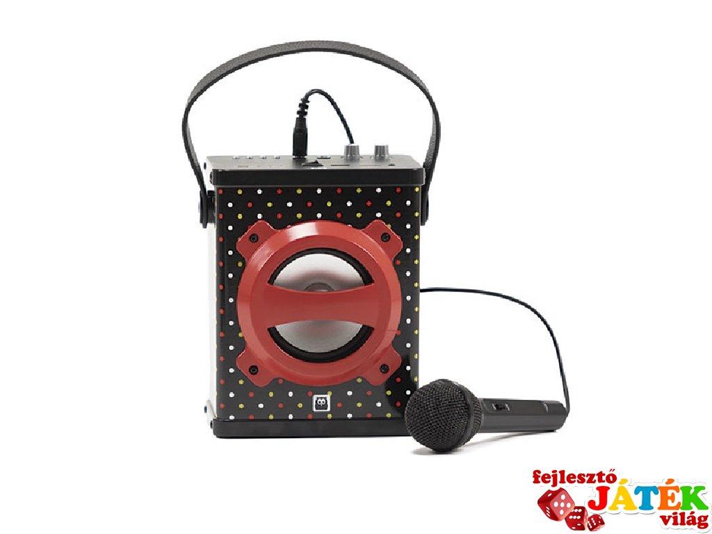 Hordozható karaokegép bluetooth-szal