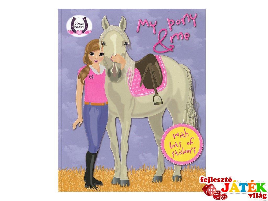 Horses Passion, My Pony and me Purple, matricás foglalkoztató füzet (NAP, 4-10 év)