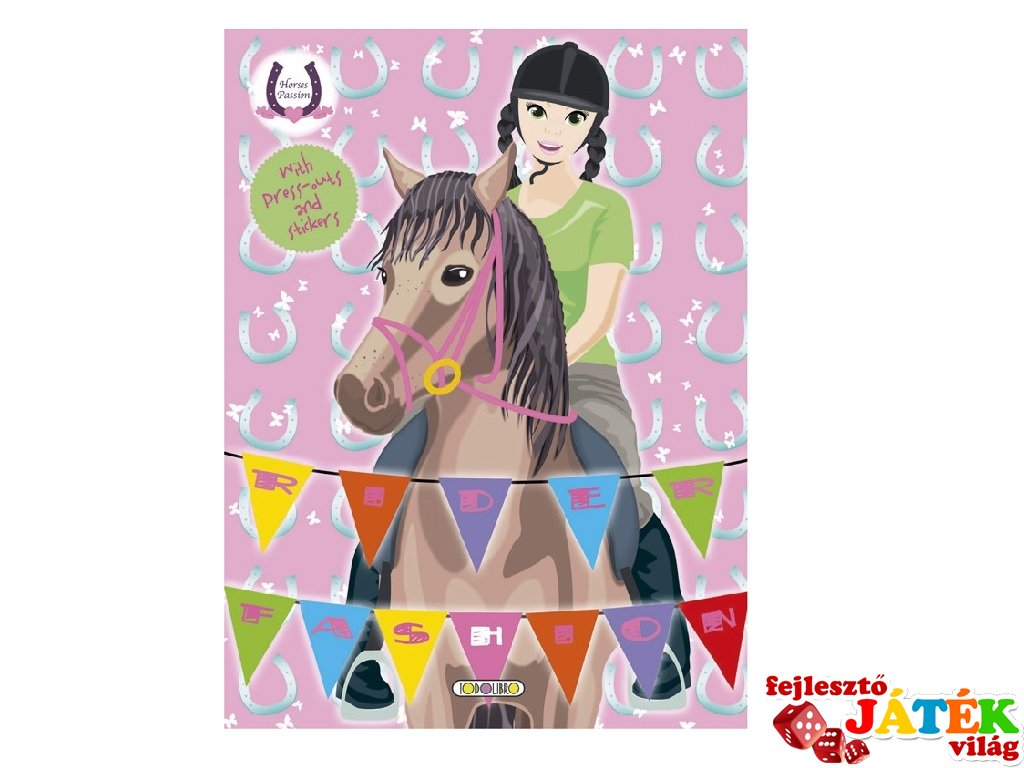 Horses Passion Rider Fashion 3, matricás foglalkoztató füzet (NAP, 3-10 év)