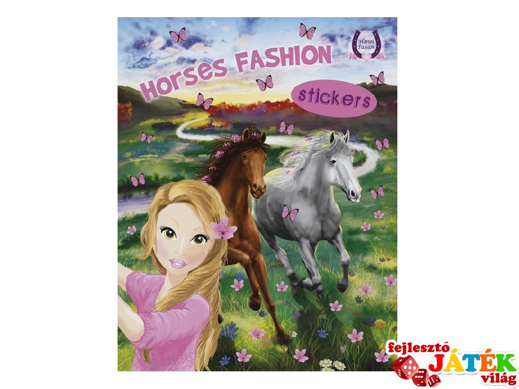 Horses Passion Sticker 3, matricás foglalkoztató füzet (NAP, 3-10 év)