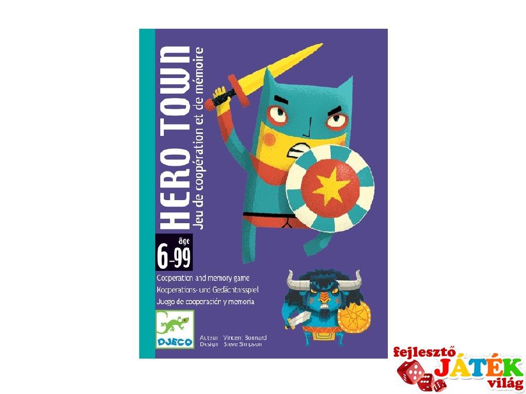 Hős város, Djeco kooperációs és memóriafejlesztő kártyajáték - 5143 (6-10 év)