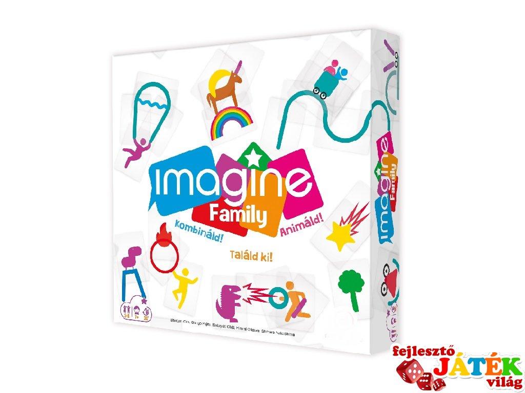 Imagine Family asszociációs partijáték (Cocktail Games, 8-99 év)