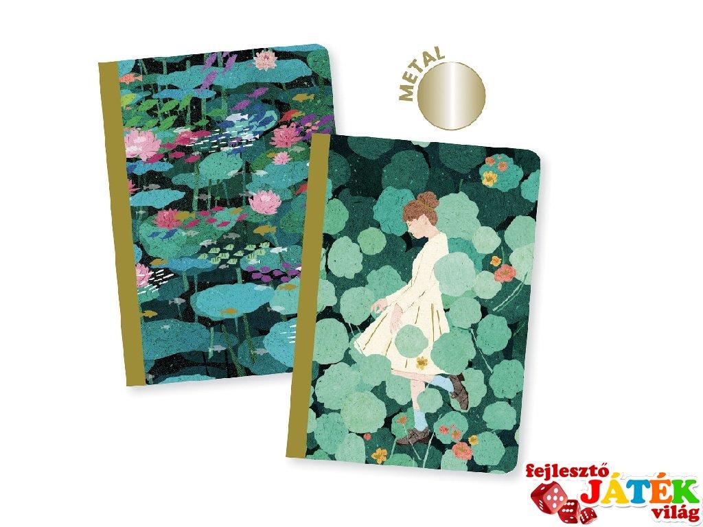 Jegyzetfüzet Xuan A/6, 2 db-os Djeco Lovely paper szett - 3598