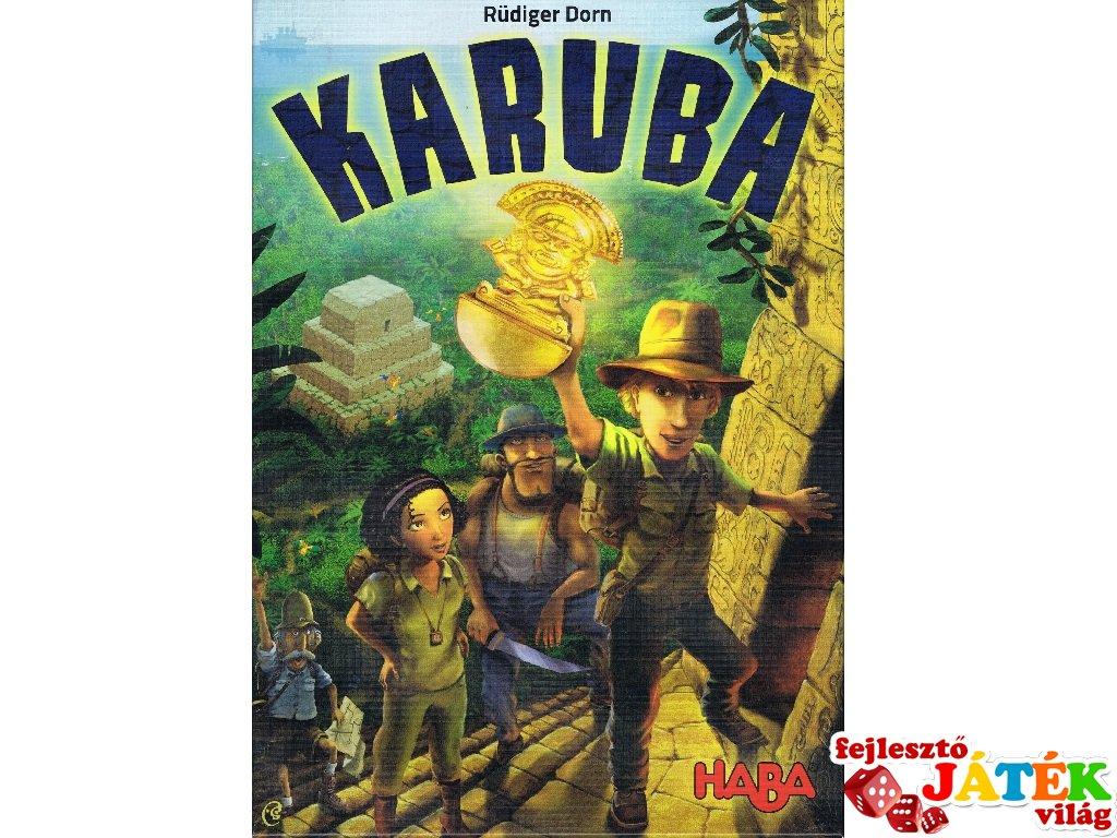 Karuba társasjáték (Haba, 8-99 év)