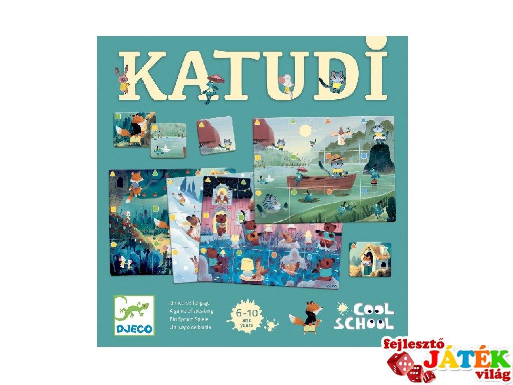 Katudi, Djeco nyelvi fejlődést segítő társasjáték - 8535 (6-10 év)