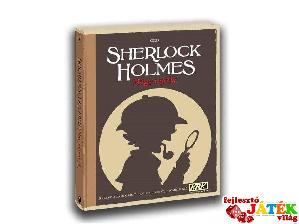 Képregényes kalandok: Sherlock Holmes Négy rejtély, kooperációs játék (10-99 év)
