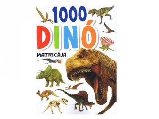1000 dinó matricája Fehér, matricás foglalkoztató füzet (NAP, 5-10 év)