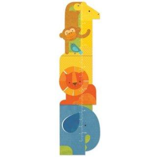 100% organikus magasságmérő Szafari, gyerekszoba kiegészítő (PC)