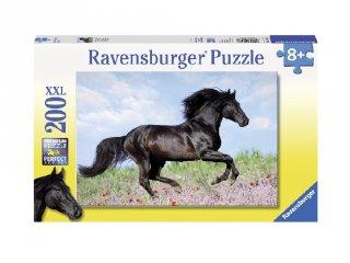 200 db-os puzzle, Fekete paripa (lovas kirakójáték, 8-99 év)