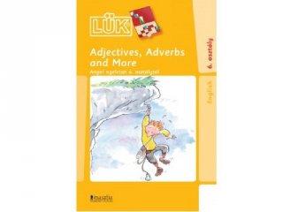 24 darabos Lük, Adjectives, adverbs and more (egyszemélyes, angol nyelvi gyakorlófüzet, 10-99 év)