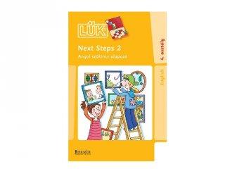 24 darabos Lük Next steps 2. angol 4. osztály, egyszemélyes fejlesztő logikai játék (9-11 év)