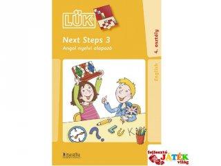24 darabos Lük, Next Steps 3., Angol nyelvi alapozó (egyszemélyes, nyelvi fejlesztőjáték, 10 éves kortól)