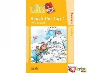 24 darabos Lük, Reach the top 1. (egyszemélyes angol nyelvi fejlesztőjáték, 11-99 év)