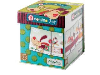 2 dominó egy dobozban, Jef kutyus (Lilliputiens, számos, logikai játék, 2-5 év)