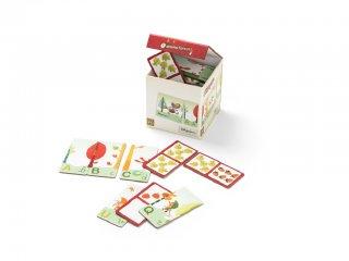 2 dominó egy dobozban, Nicolas az erdőben (Lilliputiens, 86470, számos logikai játék, 2-5 év)