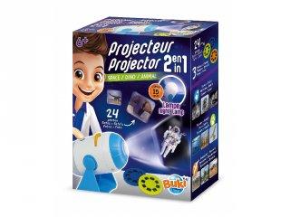 2in1 projektor, Buki tudományos játék és éjszakai fény egyben (6-14 év)