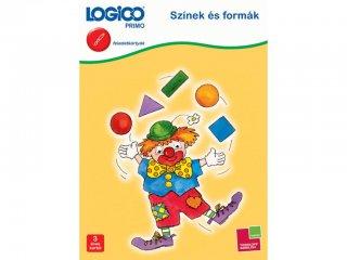 3 éves kortól: Logico primo, Színek és formák (3223, fejlesztő feladatlapok gyerekeknek)