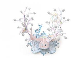 3D dekoráció, Csillagok (Djeco, 4913, faldekoráció)