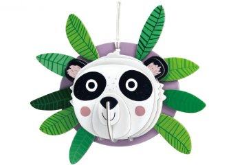 3D dekorációs puzzle Panda, kreatív készlet (Avenir, 3-6 év)