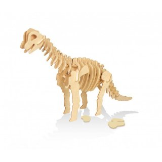 3D dinoszaurusz modell fából, Buki kreatív szett (többféle, 6-10 év)