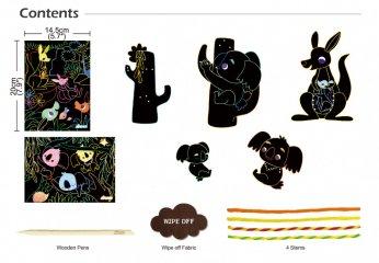 3D karckép készítés Koala, kreatív szett (Avenir, 3-7 év)