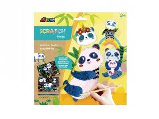 3D karckép készítés Panda, kreatív szett (Avenir, 3-7 év)