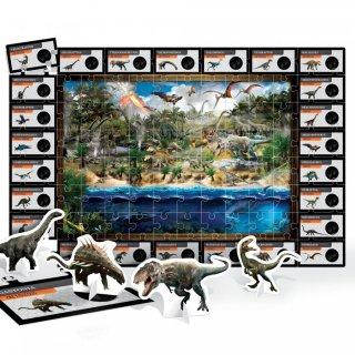 3D Puzzle dínók, 86 db-os kirakó (HED, 5-10 év)