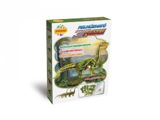 3D Puzzle, Diplocodus (HW, felhúzható kirakó, 5-9 év)
