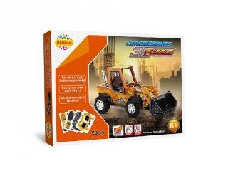3D Puzzle, Nagy markoló (HW, felhúzható kirakó, 5-9 év)