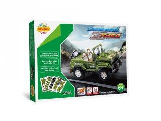 3D Puzzle, Nagy terepjáró (HW, felhúzható kirakó, 5-9 év)