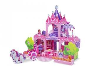 3D puzzle, Pink palota (Melissa&Doug, szerepjáték, 5-8 év)
