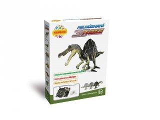 3D Puzzle, Spinosaurus (HW, felhúzható kirakó, 5-9 év)