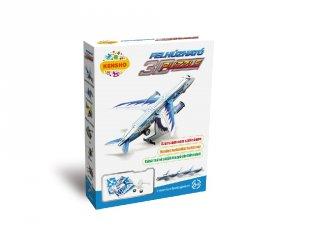 3D Puzzle, Személyszállító repülőgép (HW, felhúzható kirakó, 5-9 év)