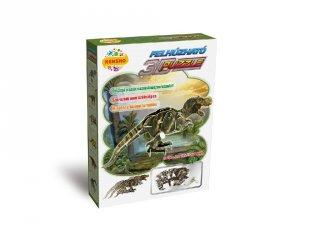 3D Puzzle, T-Rex (HW, felhúzható kirakó, 5-9 év)