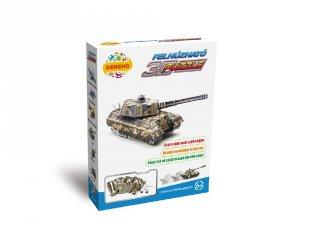 3D Puzzle, Tank (HW, felhúzható kirakó, 5-9 év)