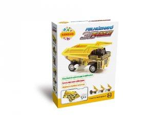 3D Puzzle, Teherautó (HW, felhúzható kirakó, 5-9 év)