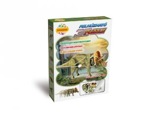 3D Puzzle, Triceratops (HW, felhúzható kirakó, 5-9 év)