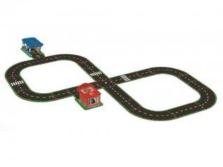 3D-s puzzle, Autópálya (Djeco, 7710, kemény karton kirakó, 3-8 év)