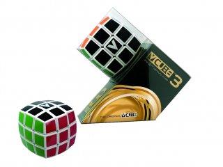 3x3 versenykocka, fehér, lekerekített, matrica nélküli (V-Cube, egyszemélyes logikai játék, 7-99 év)