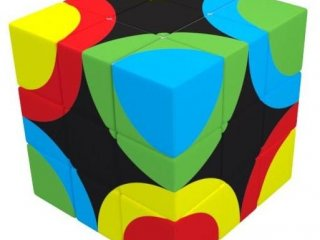 3x3 versenykocka, Körök (V-Cube, egyszemélyes logikai játék, 7-99 év)